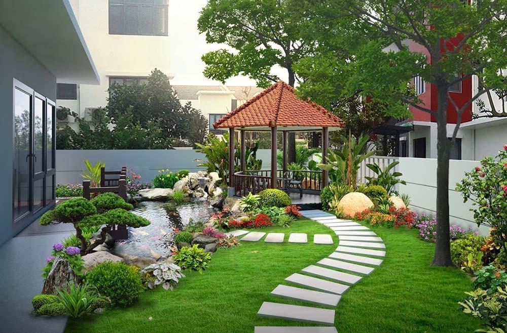 Chuyên thiết kế cảnh quan sân vườn chuyên nghiệp